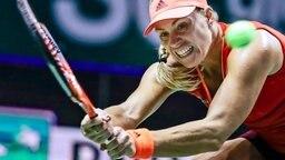 Tennisprofi Angelique Kerber © dpa Foto: Wallace Woon