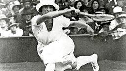 Die dominierende Spielerin im Tennis: Suzanne Rachel Flore Lenglen. © Getty Images