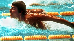 Der US-amerikanische Schwimmer Mark Spitz © picture-alliance / dpa