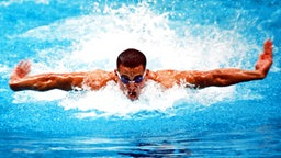 USA-Ausnahmeschwimmer Matt Biondi © picture-alliance / dpa
