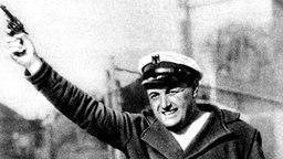 Der deutsche Starter Franz Miller bei den Olympischen Spielen 1932 in Los Angeles © picture-alliance / dpa