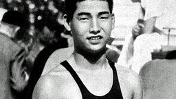 Der Japaner Yasuji Miyazaki, Goldmedaillengewinner von 1932 über 100 m Kraul. © picture-alliance / dpa