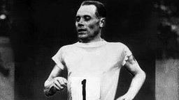 Der finnische Ausnahme-Athlet Paavo Nurmi © picture-alliance / dpa