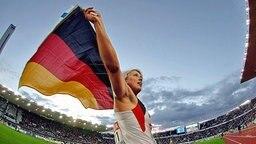 Vize-Weltmeisterin im Speerwerfen: Christina Obergföll © Picture-Alliance/dpa