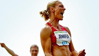 Siebenkämpferin Jennifer Oeser © imago/nph