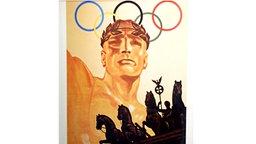 Plakat der Olympischen Spiele von 1936 in Berlin © picture-alliance / ASA