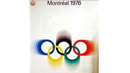 Das Plakat der Olympische Spiele von 1976 in Montréal © picture-alliance / ASA