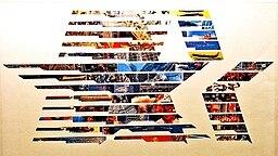 Plakat der Olympischen Spiele von 1984 in Los Angeles © picture-alliance / ASA