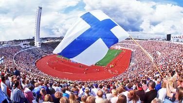 Das Olympiastadion von Helsinki © Picture-Alliance / ASA Foto: Empics Tony Marshall