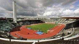 Blick ins Olympiastadion von Helsinki © dpa - Report Foto: Lehtikuva Timo Jaakonaho