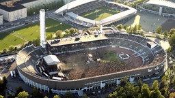 Blick auf das Olympiastadion von Helsinki © picture alliance / dpa Foto: Lehtikuva Martti Kainulainen