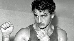 Der ungarische Boxer Laszlo Papp © picture-alliance / dpa