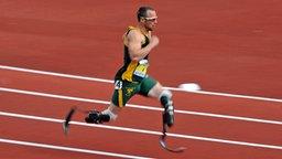 400-Meter-Läufer Oscar Pistorius aus Südafrika © picture alliance / empics Foto: Andrew Matthews