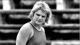 Die deutsche Schwimmerin Andrea Pollack © ullstein bild - Sven Simon