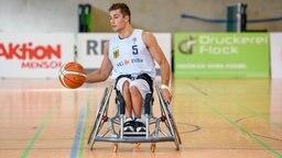 Rollstuhlbasketballer Nico Dreimüller