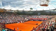 Das Tennisstadion am Hamburger Rothenbaum