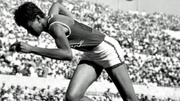 Die Siegerin im 200-m-Finale der Damen: Wilma Rudolph (USA) © picture alliance / united archives