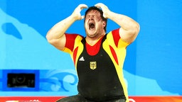 Matthias Steiner gewinnt Gold. © dpa Bildfunk Foto: Rungroj Yongrit