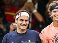 Roger Federer (l.) And Alexander Zverev. © image / Imagechina