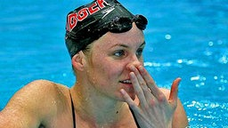 Die US-Schwimmerin Jenny Thompson © picture-alliance / dpa/dpaweb