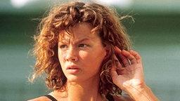Die deutsche Schwimmerin Franziska van Almsick © picture-alliance / dpa