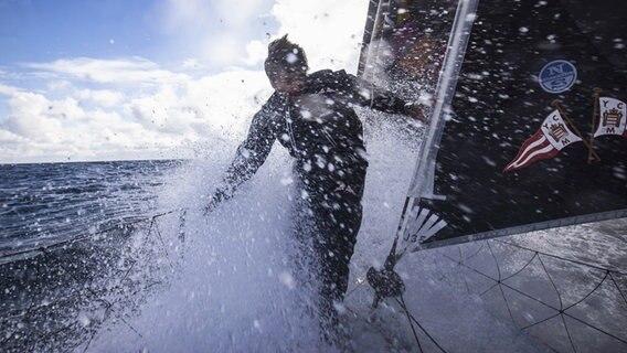Weltumsegler Escoffier nach Havarie im Südpolarmeer gerettet