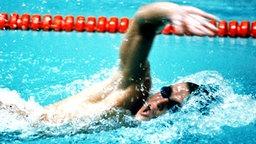 Der russische Schwimmer Wladimir Salnikow gewinnt die 1.500 m Freistil © picture-alliance / dpa