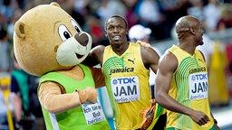 Berlino feiert mit Usain Bolt © picture-alliance / Sven Simon Foto: Anke Fleig / SVEN SIMON