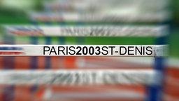 Laufhürde bei der Leichtathletik WM 2003 © imago/Sven Simon Foto: Sven Simon