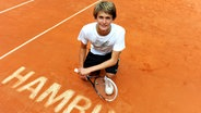 Tennis-Talent Alexander Zverev beim Turnier am Hamburger Rothenbaum © picture alliance/dpa Fotograf: Angelika Warmuth