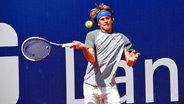 Tennis Talent Alexander Zverev beim Turnier in Braunschweig © Westend-PR