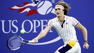 Alexander Zverev bei den US Open in New York © imago/UPI Photo
