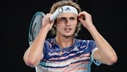 Tennisprofi Alexander Zverev © picture alliance/Scott Barbour/AAP/dpa