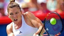 Die rumänische Tennisspielerin Simona Halep hat ihre Teilnahme an den 31. Olympischen Spielen in Rio de Janeiro abgesagt. © dpa Bildfunk Foto: Andre Pichette