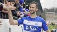 Stürmer Nick Proschwitz vom Drittligisten SV Meppen