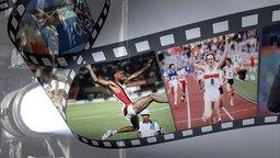 WM-Momente in einem Filmstreifen. © fotolia Fotograf: corund