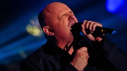 Rolf Stahlhofen singt am 10. Oktober bei Hamburg Sounds in den Fliegenden Bauten  Fotograf: Marco Maas / fotografirma.de
