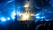 Das Publikum feiert beim Hurricane Festival 2081 in Scheeßel. © NDR Fotograf: Benjamin Hüllenkremer