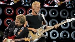 Mit dem Auftritt von The Police gingen die weltweiten Live-Earth-Konzerte zu Ende. © dpa