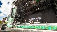Marmozets auf der Hurricane-Bühne in Scheeßel 2018. © NDR Foto: Julian Rausche