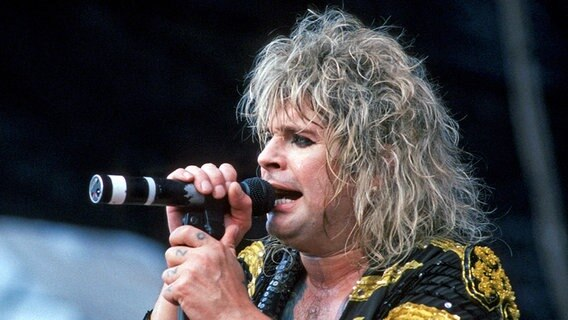 Ozzy Osbourne live 1986. © picture-alliance