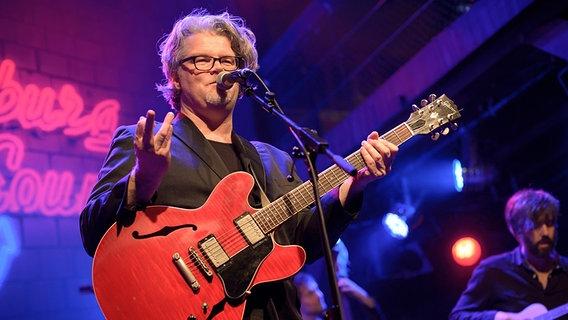 Sven Bünger live at Hamburg Sounds on April 12, 2013. © NDR / Benjamin Hüllenkremer Photo: Benjamin Hüllenkremer