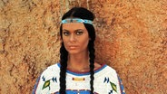 Marie Versini in ihrer Rolle Nscho-tschi in Winnetou. © dpa picture alliance