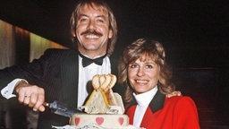 Im Jahr 1982 heiratet Mary Roos ihren zweiten Ehemann Werner Böhm. © Picture-Alliance / dpa Foto: Dieter Klar