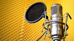 Mikrofon im Studio © artavista/werbeatelier