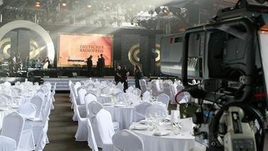 Festsaal für die Verleihung des Deutschen Radiopreises in Hamburg  Foto: Philipp Szyza
