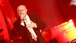 Phil Collins beim Auftritt beim Deutschen Radiopreis am 17. September 2010 in Hamburg. © NDR Foto: Marco Maas