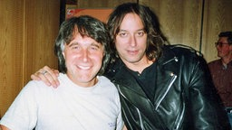 Peter Urban und Peter Buck von R.E.M. © Peter Urban