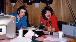 Peter Urban und Günther Fink (l.) © Peter Urban