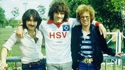 Peter Urban, Kevin Keegan und Günther Fink (v.l.n.r.) © Peter Urban